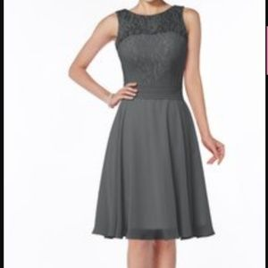 TEVOLIO grey bridesmaid dress size 14